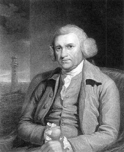 John Smeaton was an English engineer looking for a building material that would not be adversely affected by water.